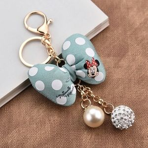 Accessories - Minnie Light teal embellished keychain